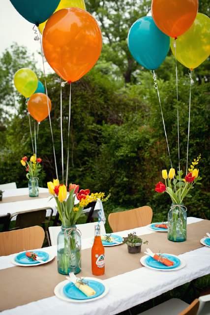 ideas de centros de mesa blog de la fiesta de 15 inolvidables 15. Black Bedroom Furniture Sets. Home Design Ideas