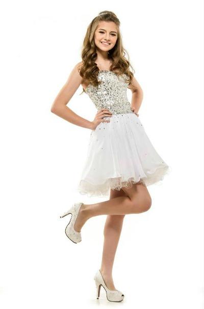 Vestidos cortos para eventos formales