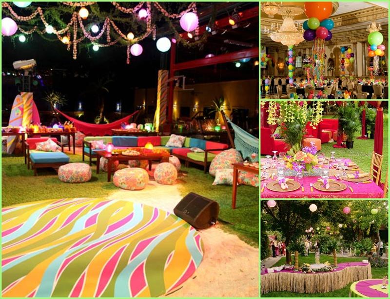 Decoracion Quincea?eras Hawaiano ~ Kit De Fiesta Tematica Hawaiana O Mexicana Espectacular Precio 59