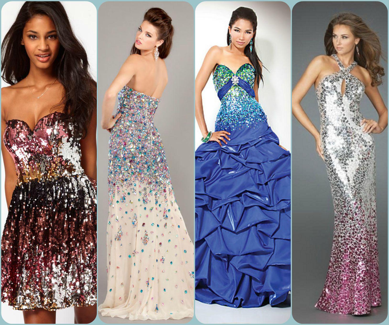Adornos para un vestido de fiesta