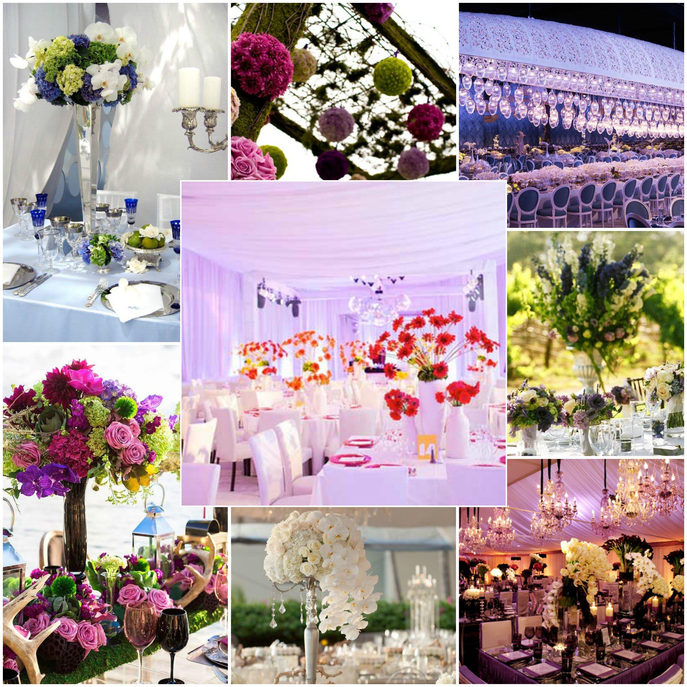 Ideas Para Centros De Mesa Con Flores Seccion De La Fiesta