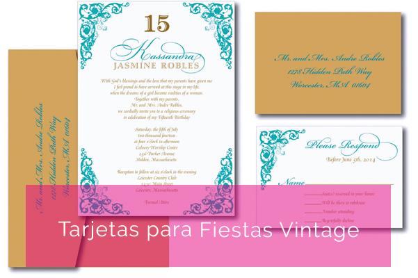Cómo Diseñar Las Tarjetas Para Tu Fiesta De 15 Seccion De