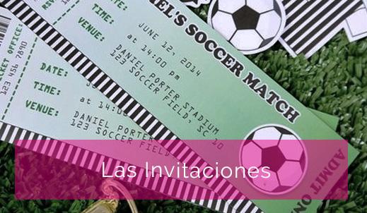 Fiesta Temática Fútbol Seccion De La Fiesta De 15