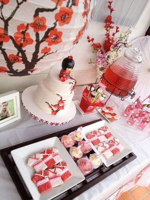 Decoracion Oriental Para Fiestas ~ Tematicas de Paises  Blog de La Fiesta de 15  Inolvidables 15